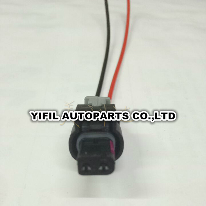 4pcs lot 2 pin way harness connector led daytime lights. Black Bedroom Furniture Sets. Home Design Ideas
