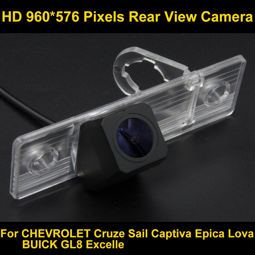 PAL HD 960*576 Pixels Car Parking Rear view Camera for Chevrolet Cruze 2010 2011 2012 2013 2014 2015 For Buick Excelle GL-8 GL8 pal hd 960 576 pixels car parking rear view camera for ford mondeo focus hatchback fiesta s max 2007 2008 2010 2011
