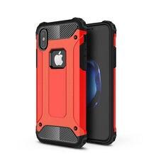 Funda trasera híbrida resistente a prueba de golpes para iPhone, carcasa de impacto resistente y resistente para iPhone 11 Por MAX XR X XS 8 7 6S Plus 5