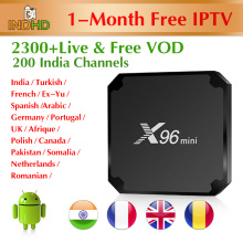 IPTV India Canada Arabic X96 mini with 1 month Code Italian Pakistan Subscription Germany Turkish IP TV Africa