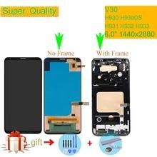 """ORIGINALE Per LG V30 LCD H930 H930DS H931 H932 H933 VS996 LS998U US998 Display LCD Monitor di Tocco Digitale Dello Schermo con il telaio 6.0"""""""