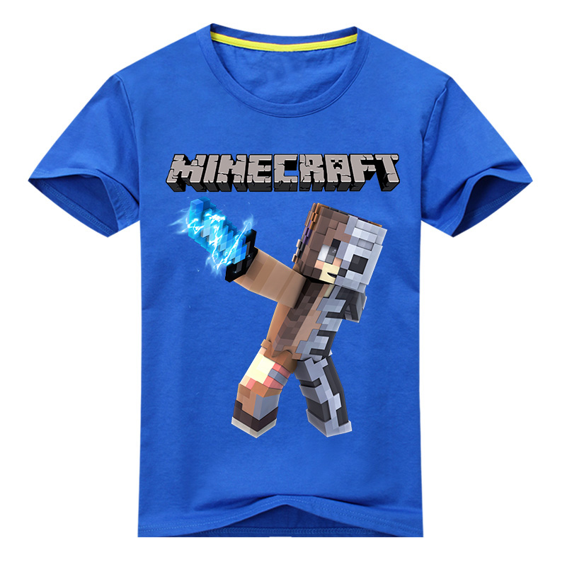 2018 New Summer Boys T Shirt Cartoon Print Cotton Tops Tees T Shirt For Boys Kids Children Outwear Clothes Tops 2-12 Years new hot summer kids boys girls cartoon tees tshirt kids t shirt short sleeved tops cotton clothes pattern cactus cicishop