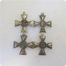 Rússia: medalhas banhadas à prata 1.2.3.4 cento copiar moedas comemorativas moedas de réplica medalhas colecionáveis