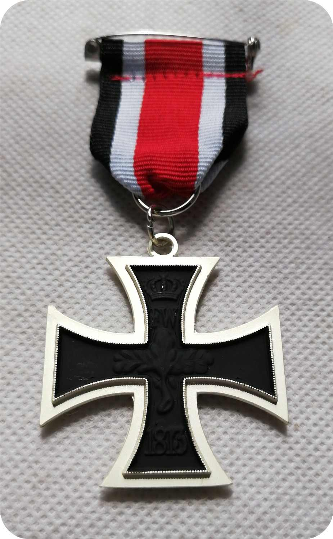 Baru Jerman 1870 Iron Cross 2nd Kelas Franco-Prusia Perang 1870 Iron Cross EK2 Prussia Militer Medali