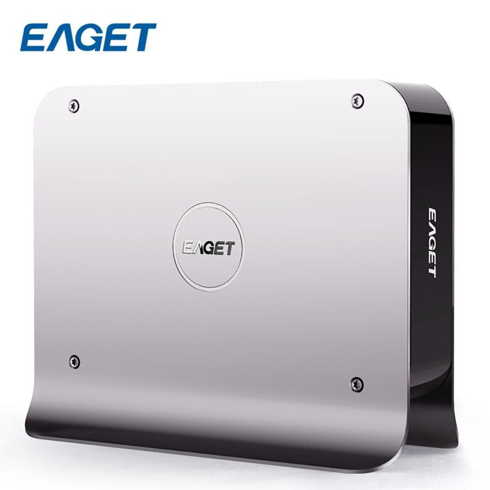 Eaget Y300 HDD DISQUE Dur Externe Soutien Unique Disque Réseau De Stockage USB 3.0 SATA 3.5 Pouces HDD Smart Disco Duro externo