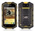 Original 4.0 polegada guophone h5 ip67 smartphones à prova de choque à prova de poeira à prova d' água android 4.2 wcdma 3g gps do telefone móvel