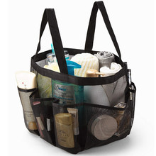 Basedidea malha chuveiro saco de secagem rápida tote chuveiro praia banheiro chuveiro organizador para contendo produtos de higiene pessoal