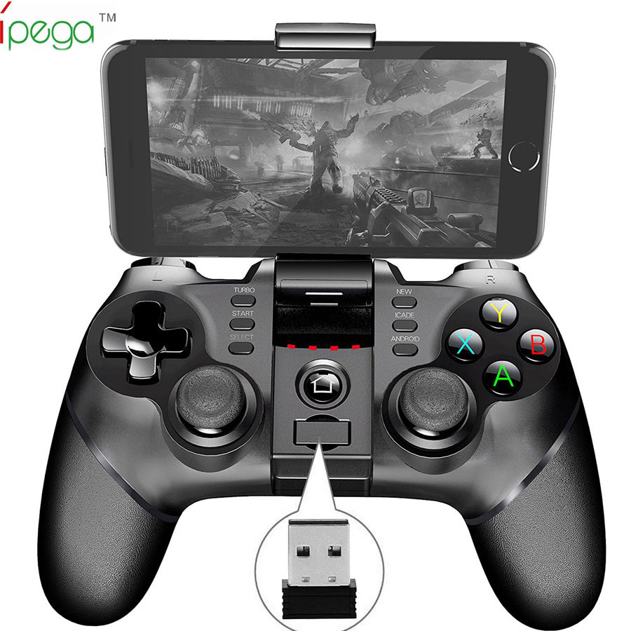 ipega PG-9076 wireless 2.4G gamepad Common for SONY PS3 PC TV bluetooth for android smart phone,tablet PC,TV box,PC USB joystick цены онлайн