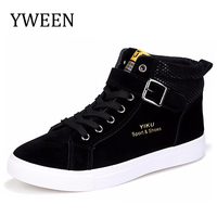 Man Casual Shoes Autumn Winter Lace Up High Style Hip Hop Street Dance Shoes For Men