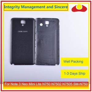 Image 3 - 10Pcs/lot For Samsung Galaxy Note 3 Neo Mini Lite N750 N7502 N7505 Housing Battery Door Rear Back Cover Case Chassis Shell