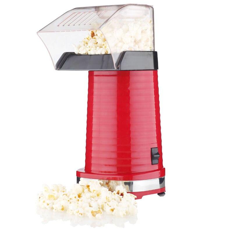 Auto Hot Air Popcorn Maker Household Mini Popcorn Machine Automatic DIY Corn Machine Popcorn Popper Kitchen Tools popcorn popper machine household popcorn maker retro style corn popper 2 5oz rocking type kettle