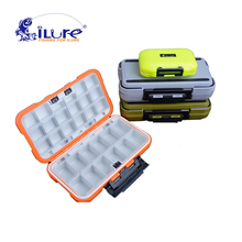 iLure 2017 New Fishing Tackle Boxes 3 colors Fishing Accessories Case Fish Lure Bait Hooks Tackle Toolwith 12 Compartments