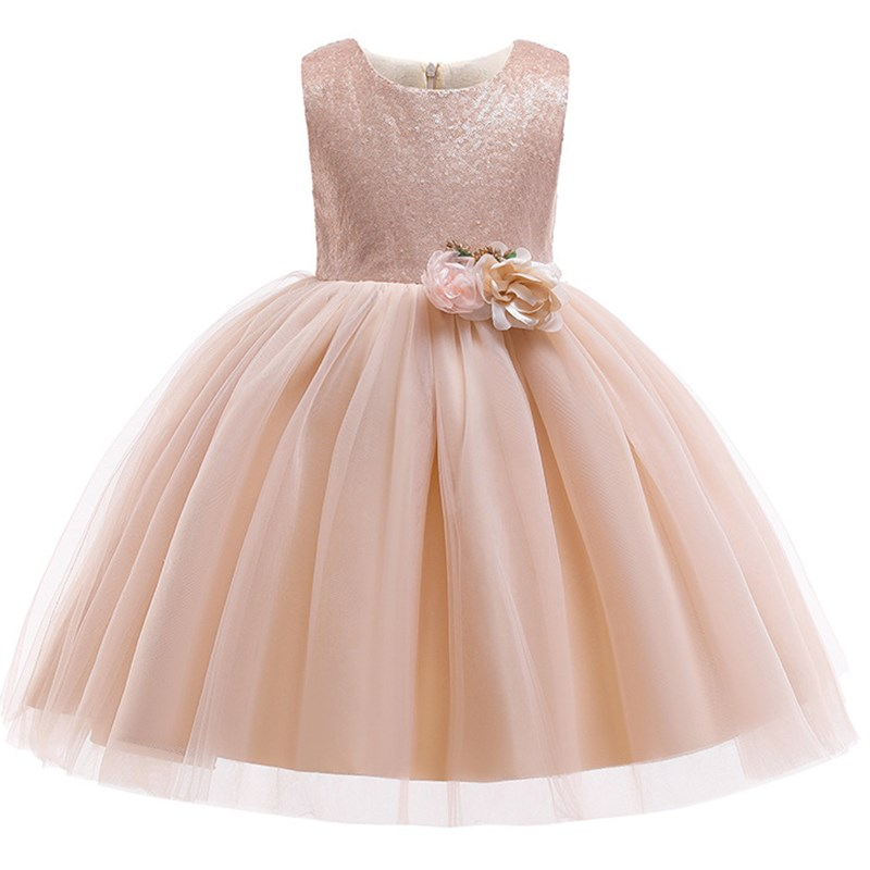 Kids   Dresses   For   Girls   Wedding Evening   Dress   Elegant Children Princess Party   Dresses   Toddler   Flower     Girls     Dress   2-10 Y Vestidos