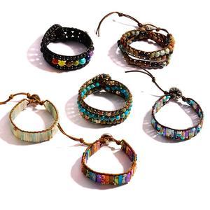 7 Chakra Bracelet Hand-woven R