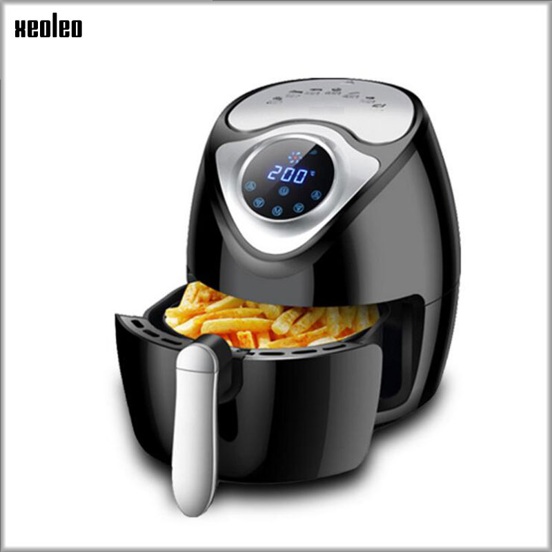 XEOLEO Air Fryer 2.6L Electric oven 1300W Automatic Electric fryer Eousehold multi-function intelligence touch Frying oven 220V
