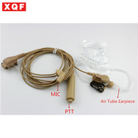 XQF Auricolare Acoustic Aria Tubo Auricolare Auricolare PTT per Vertex Standard VX131 VX230 VX231 VX261 Walkie Talkie