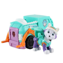New Paw Patrol Dog Plastic Toy With Light And Music Action Figure Model Patrulla Canina Toy For Children Gifts