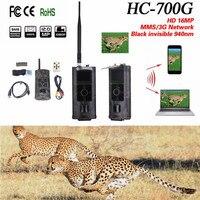 Foto Trpas 3G Jagdkamera MMS 3G HD 16MP Trail Cam GPRS SMTP SMS 1080 P Nachtsicht 940nm Scouting Kameras Falle HC700G