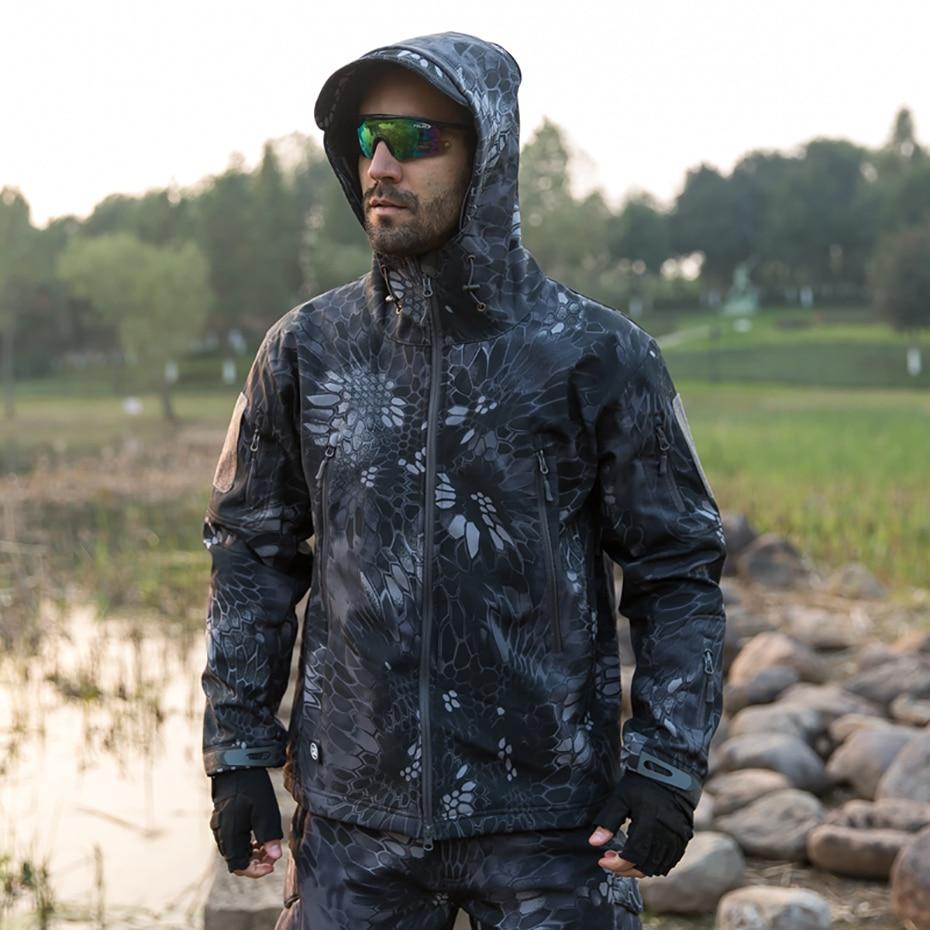 Veste tactique militaire homme polaire Softshell imperméable vestes femme pantalon Trek Camouflage chasse Trekking randonnée pantalon