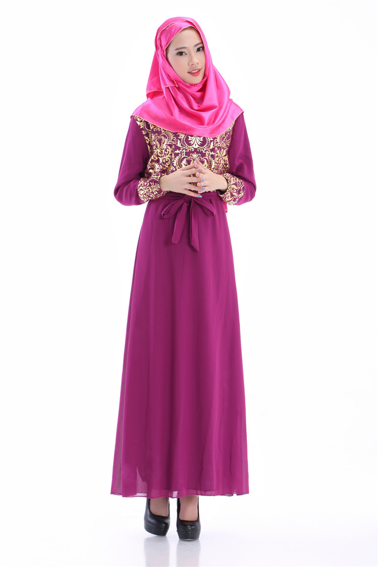 Encantador Trajes De Boda Musulmán Galería - Colección de Vestidos ...