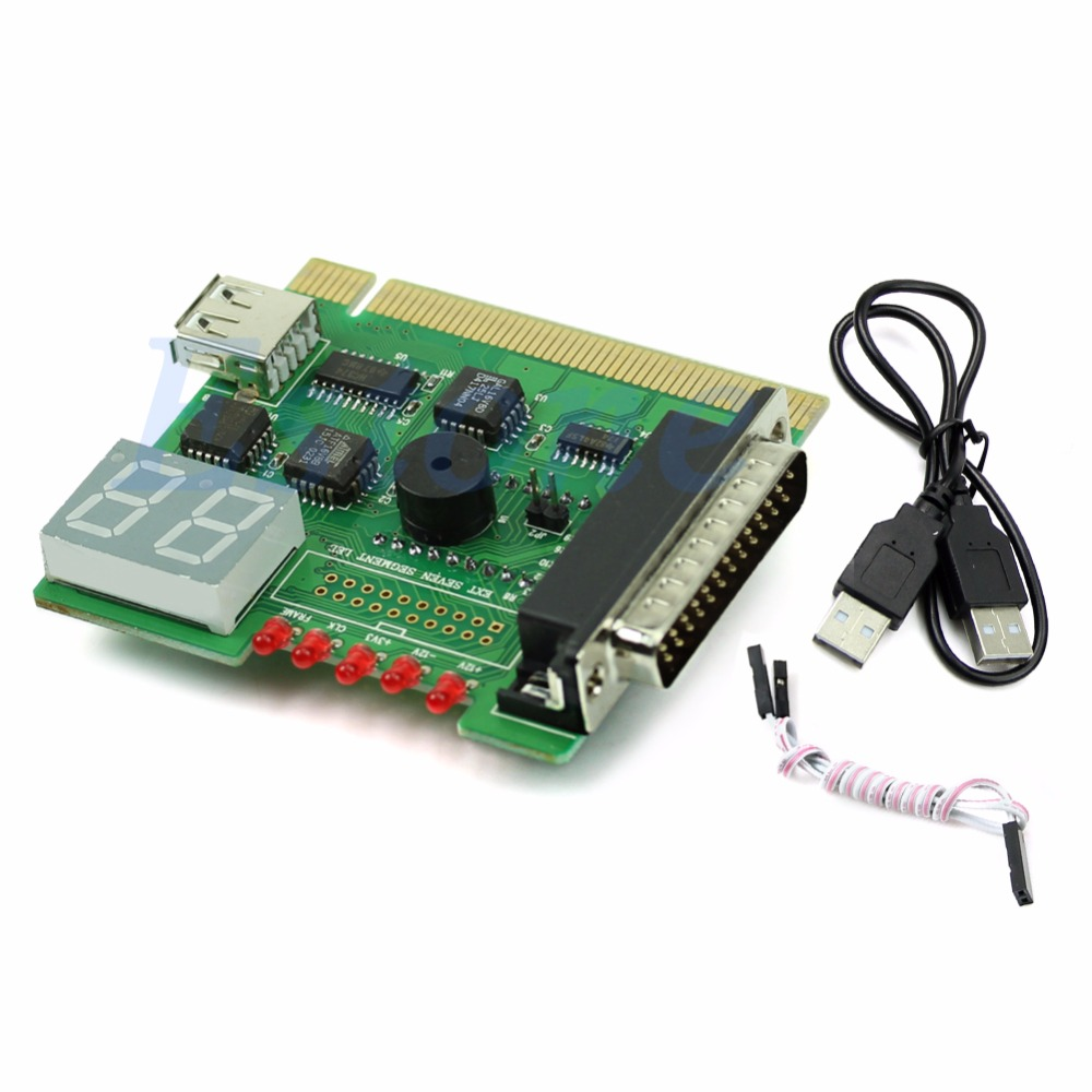 New USB PCI PC Notebook Laptop Analyzer Motherboard Diagnostic POST Card Hot