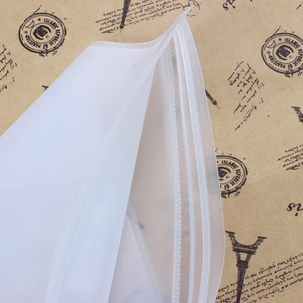 Travel Organizer Travel Vacuum Compressed Bag Zip Lock Plastic Storage Bags Cloth Underwear Socks Cosmetic Shoes Packaging F321