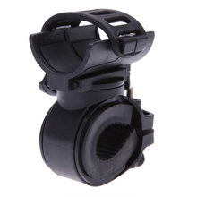 Light Touch Holder 360 Degree Rotatable Cycling Handlebar Grip Mount Bike Clamp Clip Bicycle Flashlight LED Torch Light Holder