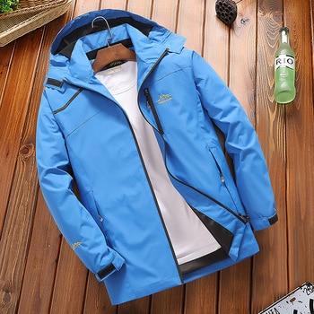 Winter Ski Jacket Men Outdoor Thermal Waterproof Windproof Breathable Ski Snowboard Jackets -30 Degree Snow Ski Clothes