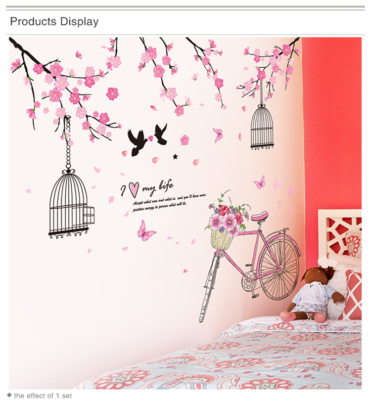 DIY Art Home Decor Wall Stickers Free Shipping