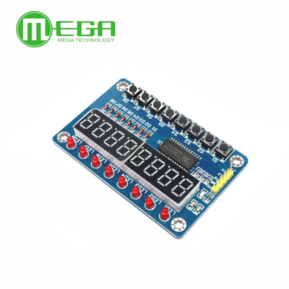 TM1638 Module Key Display For Arduino New 8-Bit Digital LED Tube 8-Bit new original in stock(China)