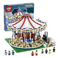 Lepin 15013 City Sreet Ceator Carousel Model Building Kits Blocks Toy Compatible with Legoed Toy Educational 15013A