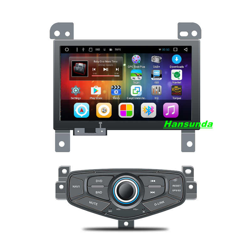 Android 6.0 car gps multimedia GPS navigaton video radio player in dash for Geely MK