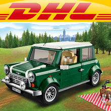 Yile 002 MINIS Coopers Building Blocks 10242 lepin technic bricks 21002 action figure creator car vehicle toys for children