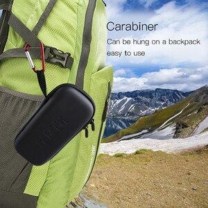 Image 5 - Osmo 포켓 짐벌 및 제어 휠 다이얼 휴대용 가방 예비 부품 스토리지 박스 하드 쉘 케이스 dji osmo 포켓 카메라