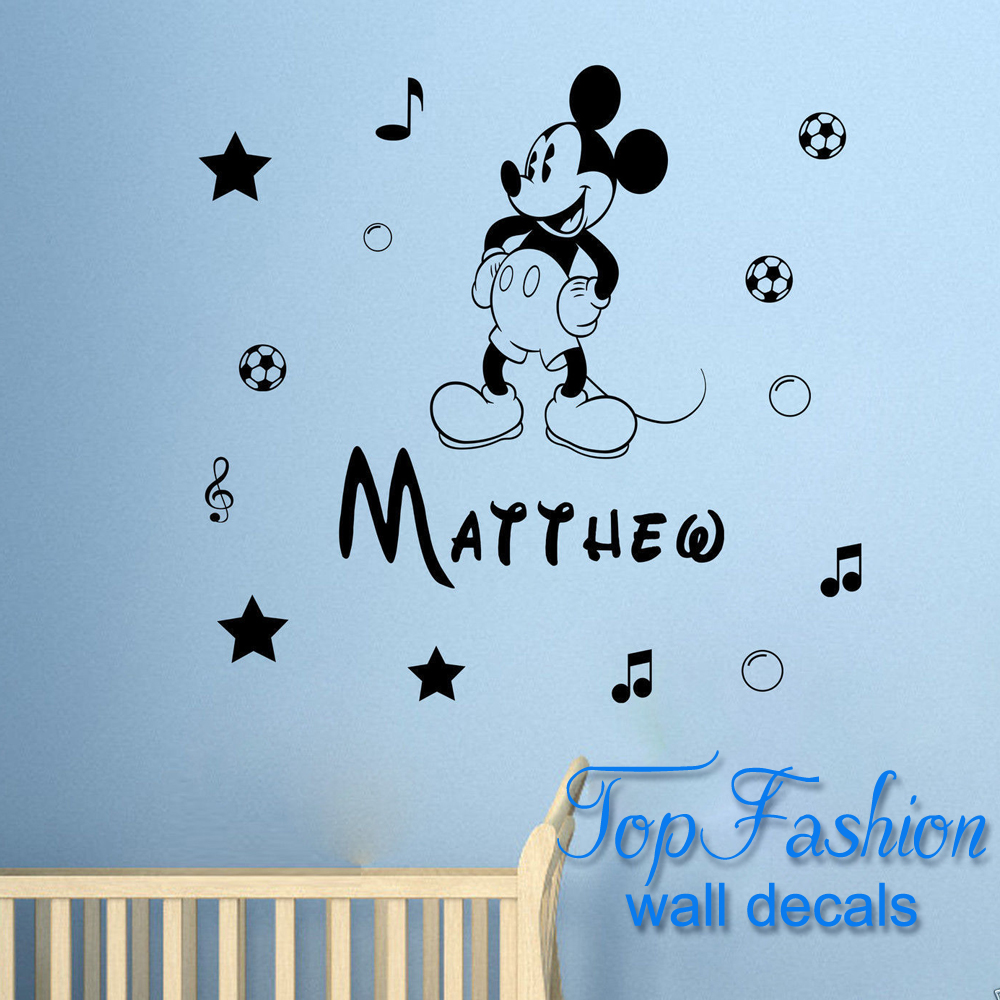 Mickey Mouse Wall Art popular mickey mouse wall stickers for boys bedroom-buy cheap