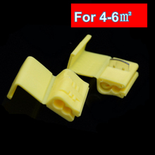 NEW  design Fast break free car connector cable Free breaking shear line clamp wiring card