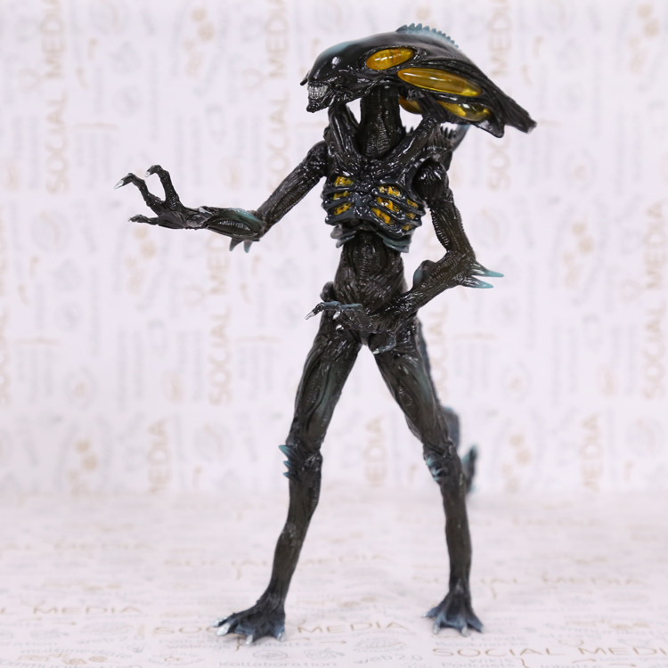 Crazy Toys Aliens Colonial Marines PVC Action Figure Collectible Model Toy 23cm MVFG330 crazy toys aquaman arthur curry pvc action figure collectible model toy 10