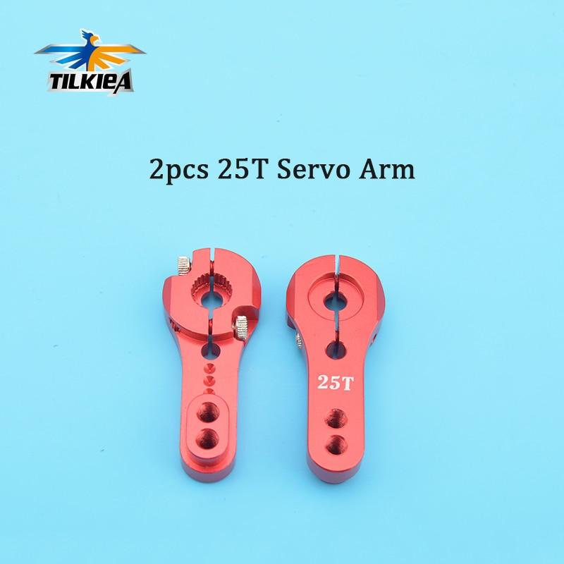 CNC Aluminium 25T M3 Metal RC Servo Arm Horn for Futaba Towerpro HD Power Green