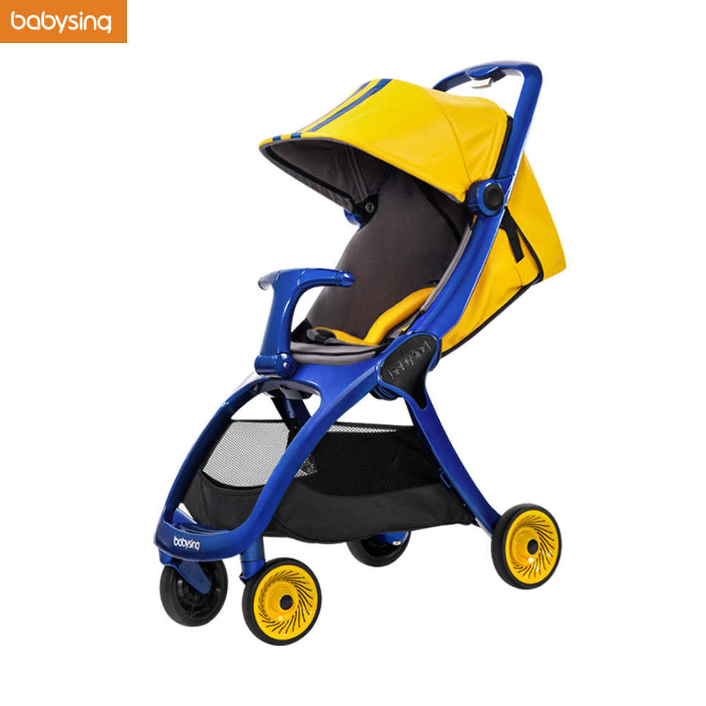 Travel Buggy With Sunroof On Sale Babysing K Go Luxury Strollers All Season Travel