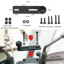 JINSERTA руль крепление насоса с 1 дюймов мяч совместимый для оперативная память крепления для GoPro экшн камеры DSLR, Sjcam, смартфонов