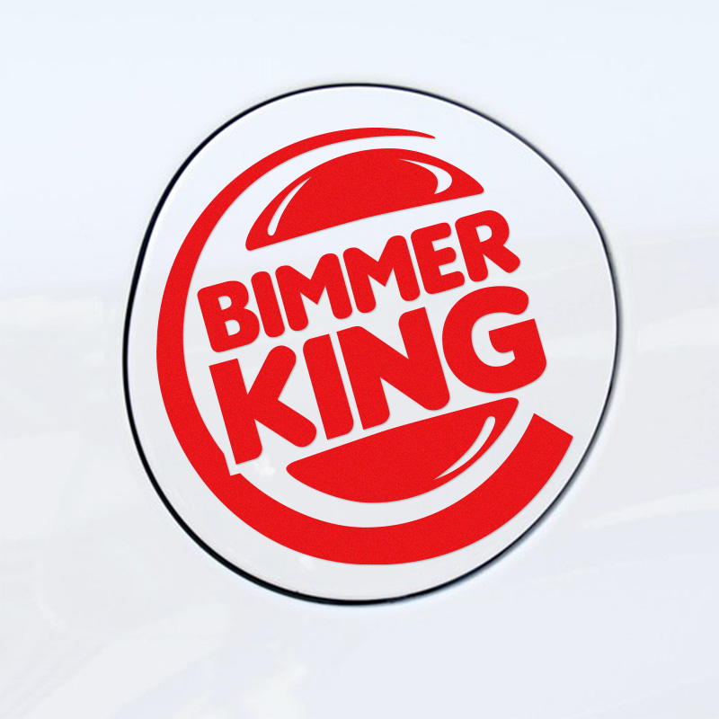 Customization BIMMER KING Car Stickers Decal Car-Styling For <font><b>bmw</b></font> e46 e39 e36 e90 e60 x5 e53 <font><b>e30</b></font> Car <font><b>accessories</b></font> image