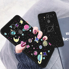 Matte Silicone Patterned Case For Huawei P20 Lite Mate 10 Pro P10 P8 P9 Lite 2017 Nova 2i For Honor 8 Lite 9i Slim TPU Cover(China)