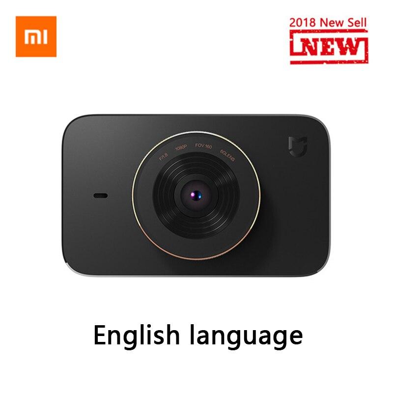 Original Xiaomi Mijia Carcorder inteligente del coche DVR grabadora de conducción F1.8 1080 p 160 grados de ángulo ancho 3 pulgadas pantalla HD portátil