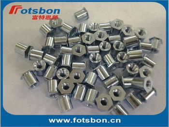 TSOA-6440-125  Threaded standoffs for sheets thin as 0.25/ 0.63mm,PEM standard,AL6061,