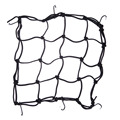 Motorcycle Bike 6 Hooks Hold down Fuel Tank Luggage Net Mesh Web Bungee Black