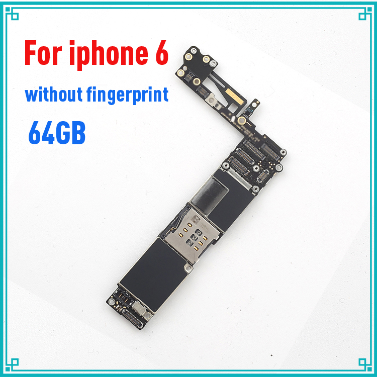 Complete Logic Boards for iphone 6 Motherboard with IOS System,64gb Original unlocked for iphone 6 Mianboard without Touch ID