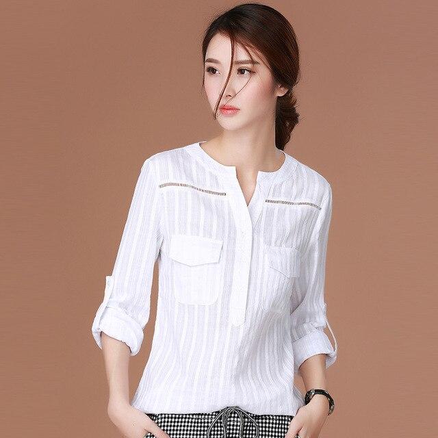 Блузки Белые Классические Купить