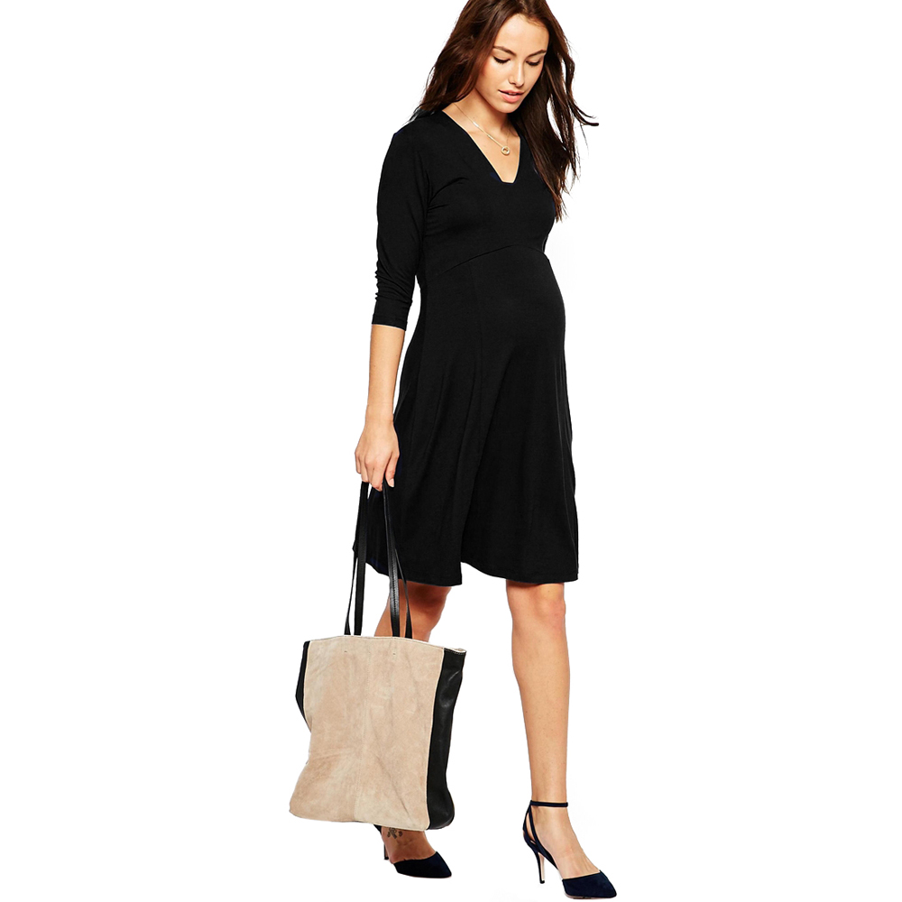 Hi bloom summer maternity clothing elegant lady dresses 95 tencel hi bloom summer maternity clothing elegant lady dresses 95 tencel5 lycra office gowns for women pregnancy vestidos clothes in dresses from mother kids ombrellifo Image collections