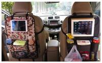 Car styling Car Rear Seat Back Organizer Storage bag Ipad Phone Holder Hanger Net Truck Mesh Travel Pocket Car Accessories