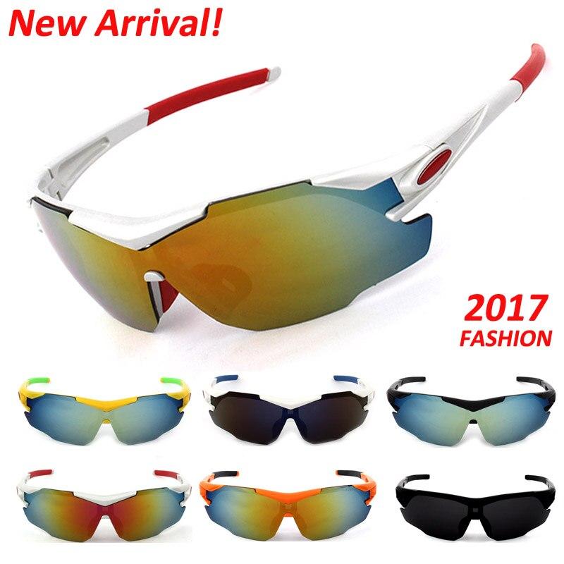 Free Shipping New Cycling Sunglasses Men Women Bike Bicycle Eyewear Outdoor Sports Windproof UV400 Goggles Cycling Sun Glasses